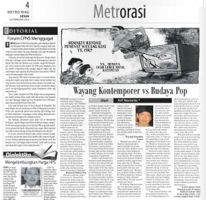 Metro Riau 10 Februari 2014